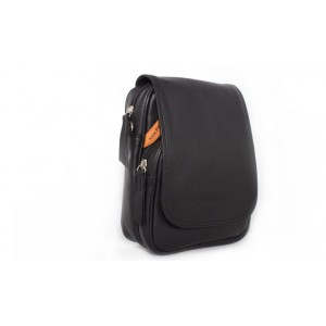 Bag Peter Blade Black Leather PRIMERON