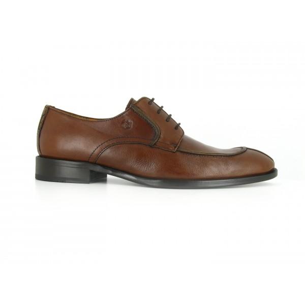 Richelieu Peter Blade Cuero Marron LONAN - Color - Marrón, Talla Zapatos - 42