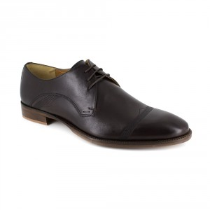 Derby Peter Blade Cuir Marron LONI