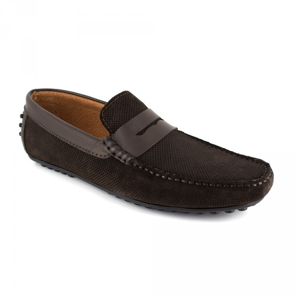 Richelieu Peter Blade Cuero Marron LONAN - Color - Marrón, Talla Zapatos - 40