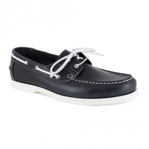 Boat Loafer Peter Blade Navy Blue leather NAUTILIUS