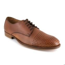 J.Bradford Zapatos Hombre De Vestir derby Cuero Marrón Luc