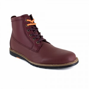 PACHUCA Burgundy Leather