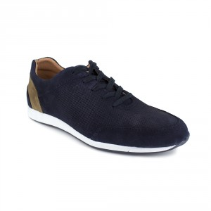 TOLUCA Navy Blue Leather