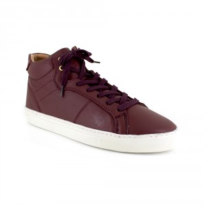 MAZATLAND Burgundy Leather