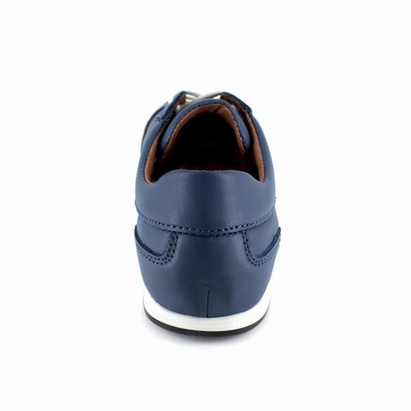 Basket Peter Blade Cuir Bleu CANCUN - Couleur - Bleu prFnq