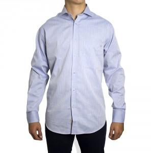 Camisa PETER BLADE Tejido Azul JAMES