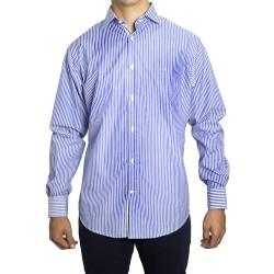 Shirt PETER BLADE White and Blue Fabric DAVID