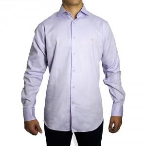 Camisa PETER BLADE Tejido Malva TOM