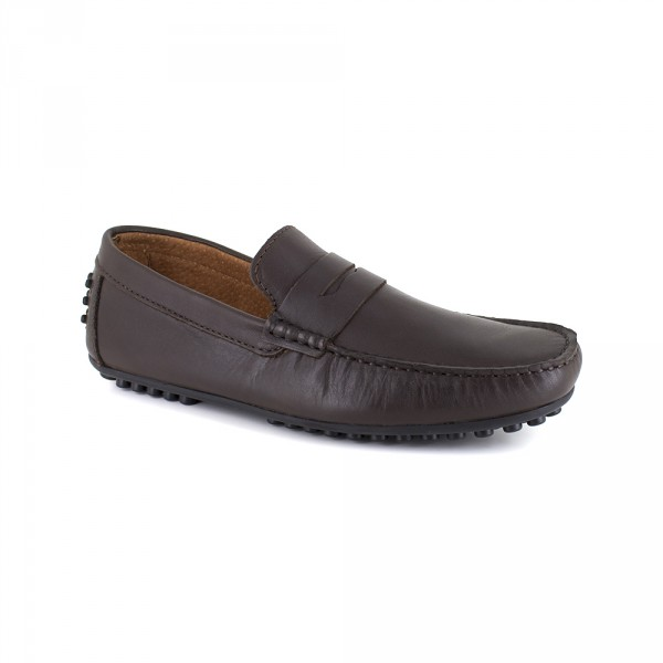 Richelieu Peter Blade Cuero Marron HAVERTON - Color - Marrón, Talla Zapatos - 42