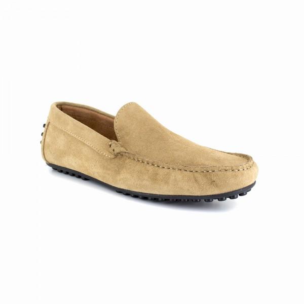 Peter Blade Mocassin Cuir Sable NOTTINGHAM Sable - Livraison Gratuite avec - Chaussures Mocassins Homme