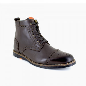 Bottine Peter Blade Cuir Marron SANTIAGO