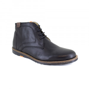 Bottine Peter Blade Cuir Noir CARACAS